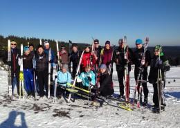 Skilaufen Oberhof 2016