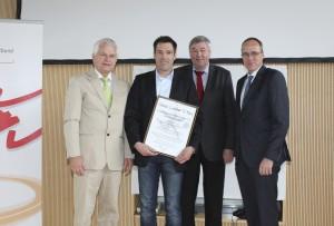 Übergaben des Heinz-Lindner-Preises 2014
